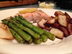 Simple Roasted Dinner