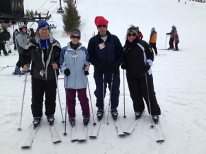 Family Ski Outing
