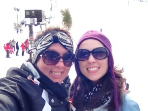 Sisters at the Slopes