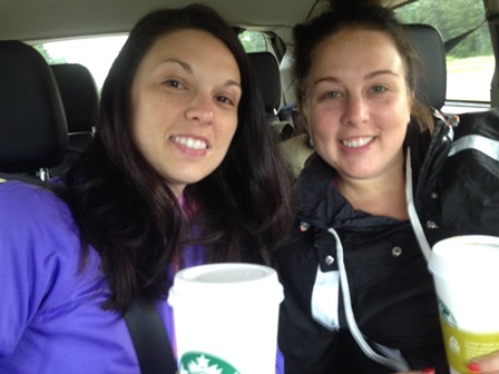 On the road with Starbucks